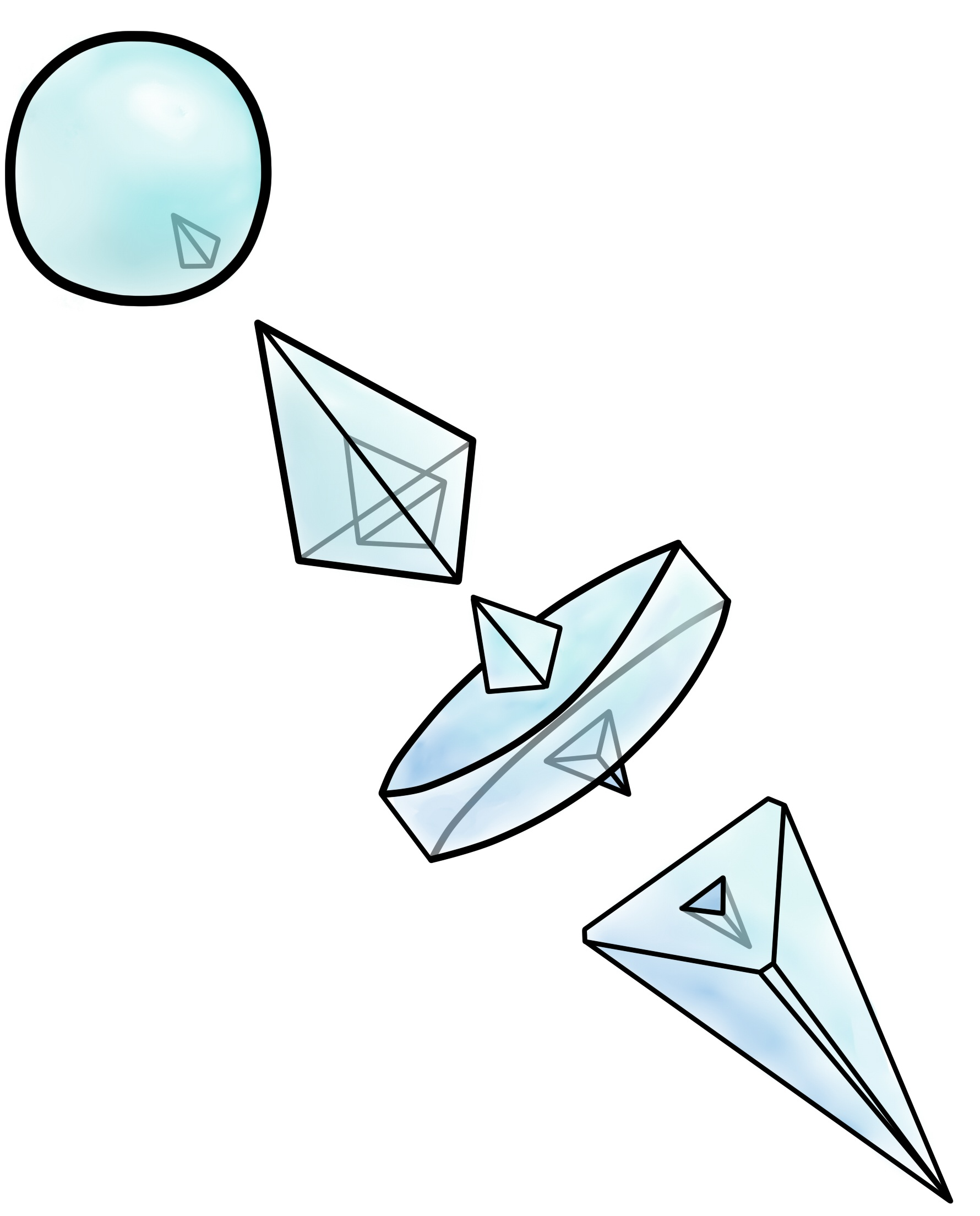 Crystal shard from Negima Neo