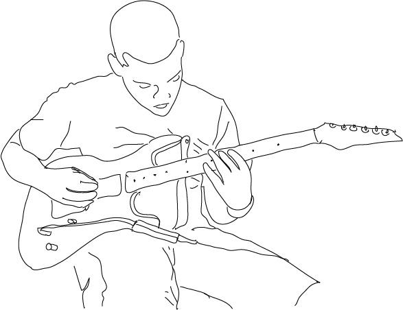 Winstonn- line drawing