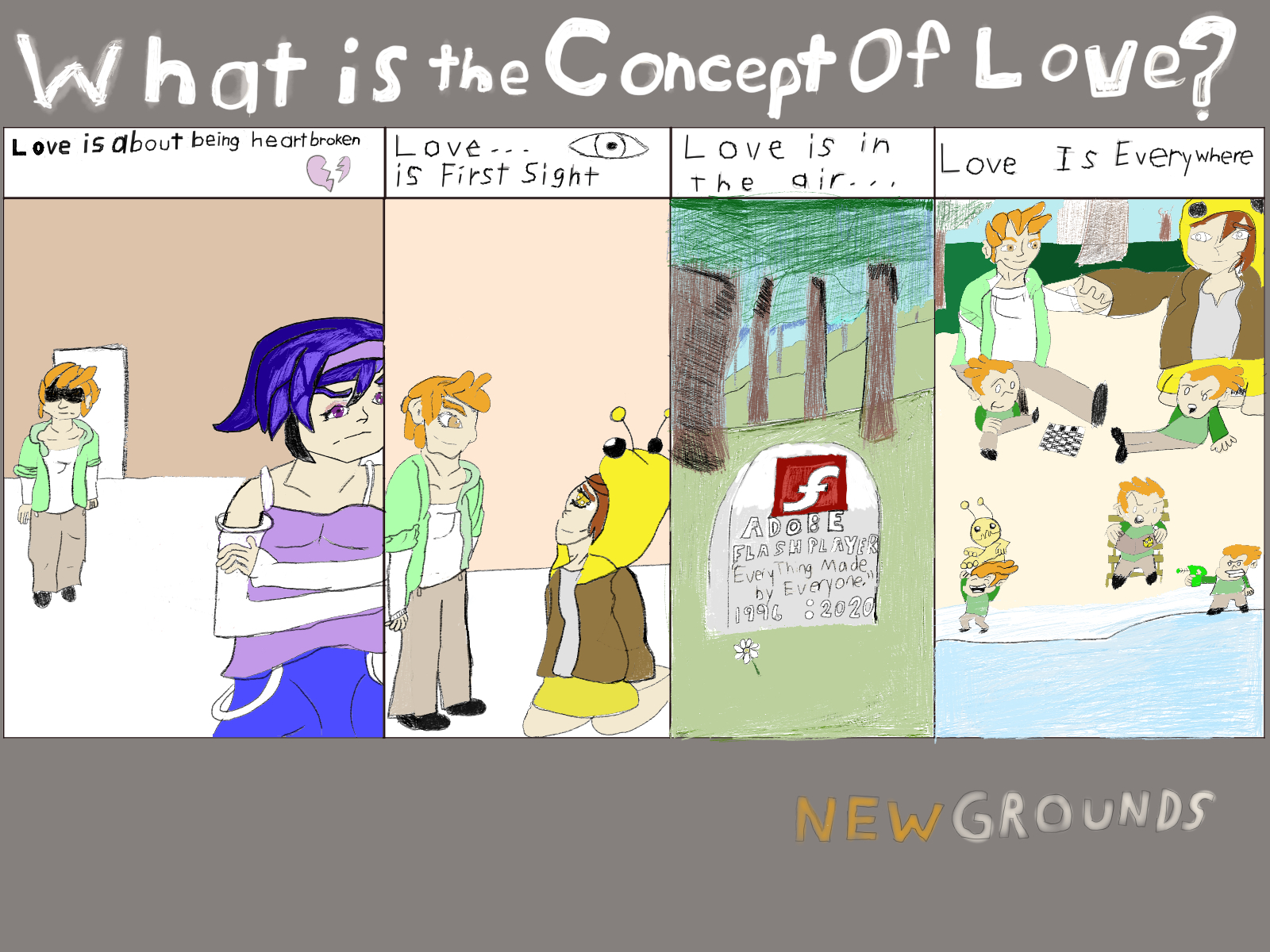 What Is the concept of love by Ethan Blair