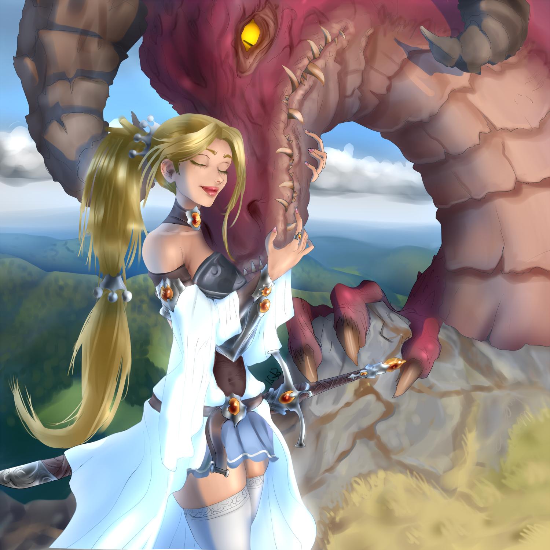 dragon lady warrior