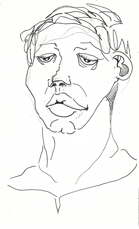 a portrait of a victim