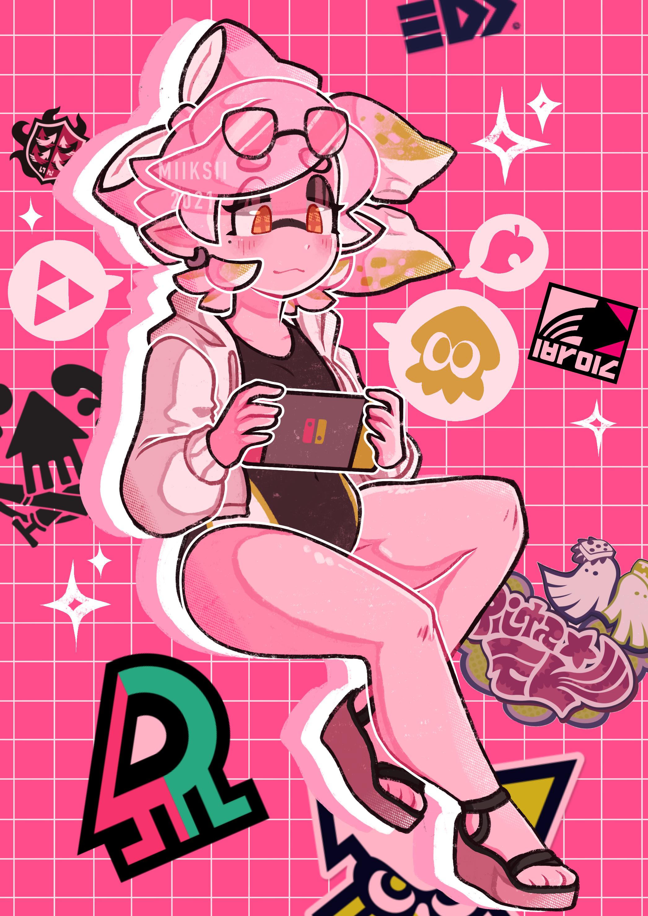 pink tides - [COMMISSION]