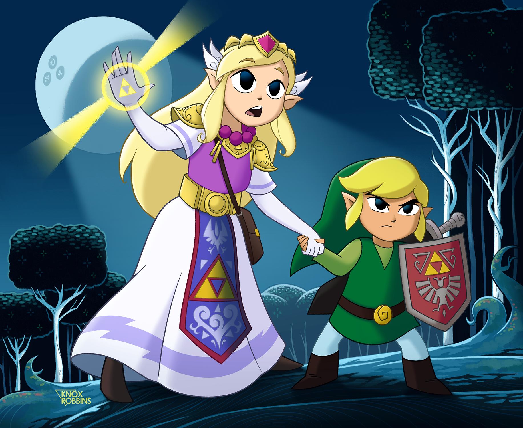 Into the Lost Woods (Zelda)