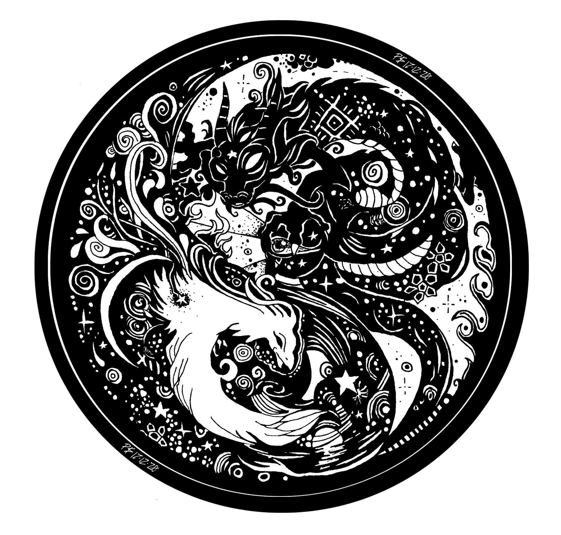 """""""Embrace"""" Yin and Yang"""