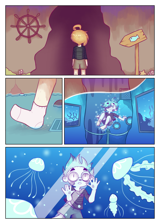 Dream journal comic 3