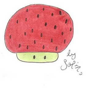 Strwberry Mushroom
