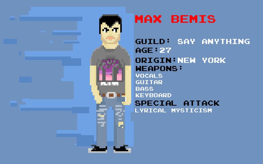 Max Bemis 8bit
