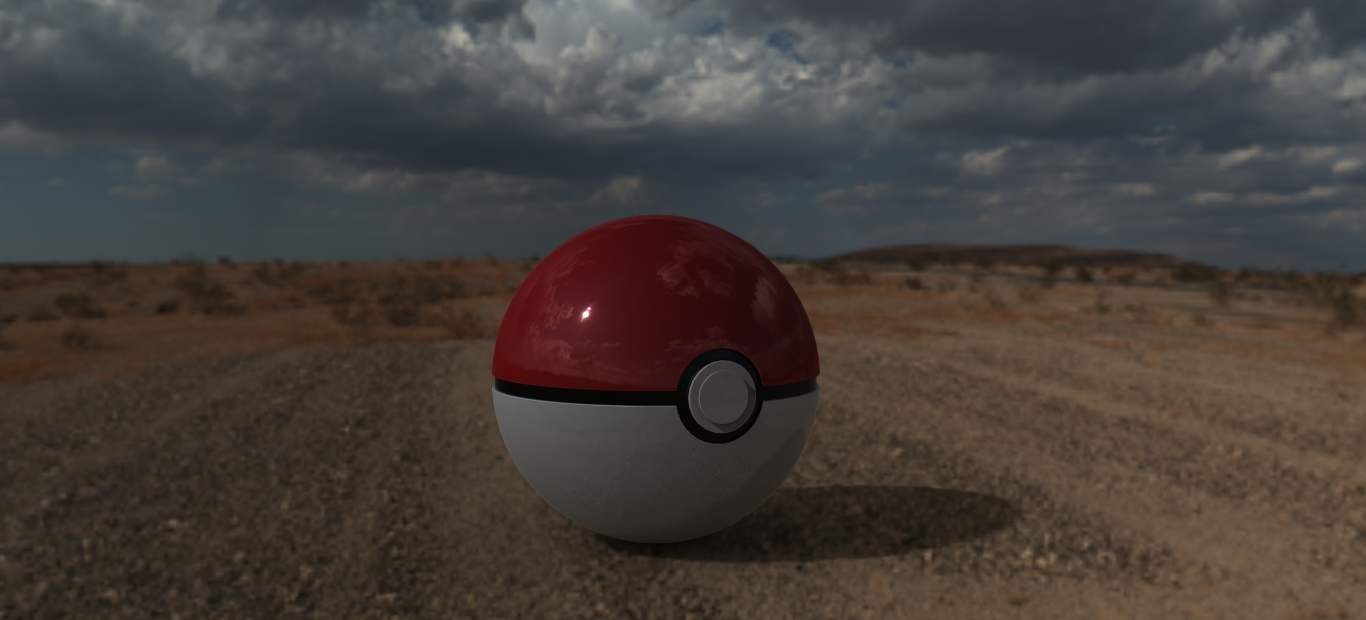 Pokeball out there