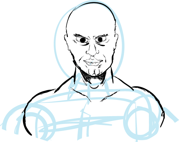 Some Guy (First Tablet Sketch)