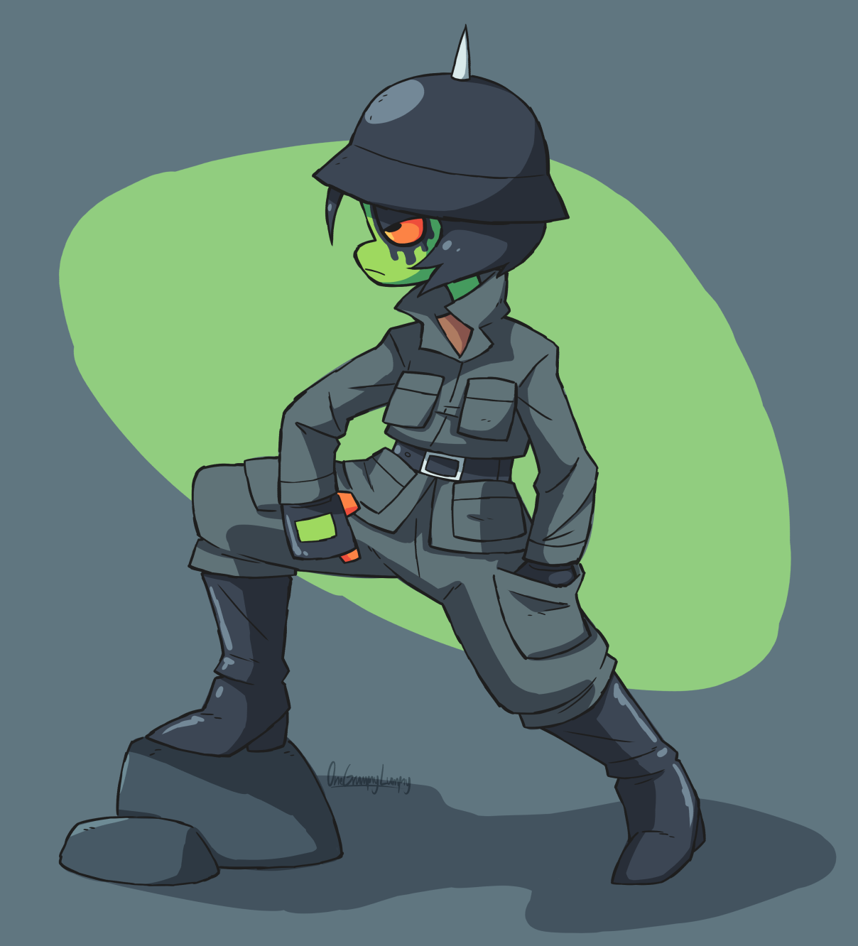 Army Frog