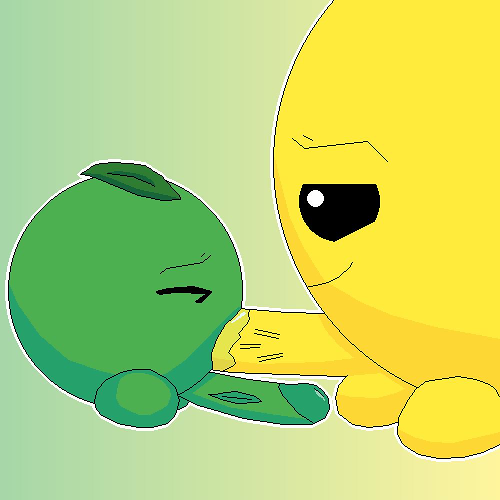Gween and Yelo