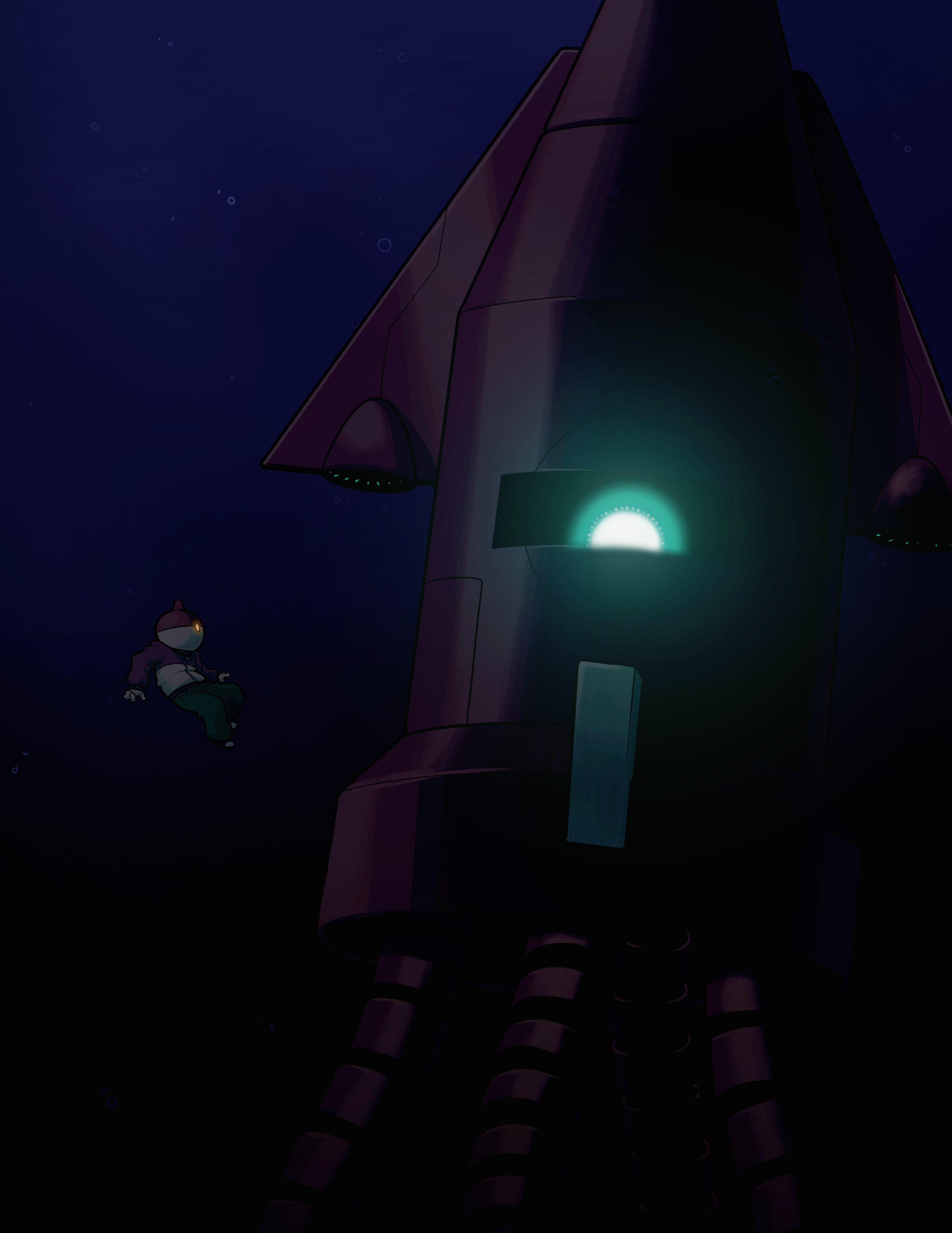 Robot Squid