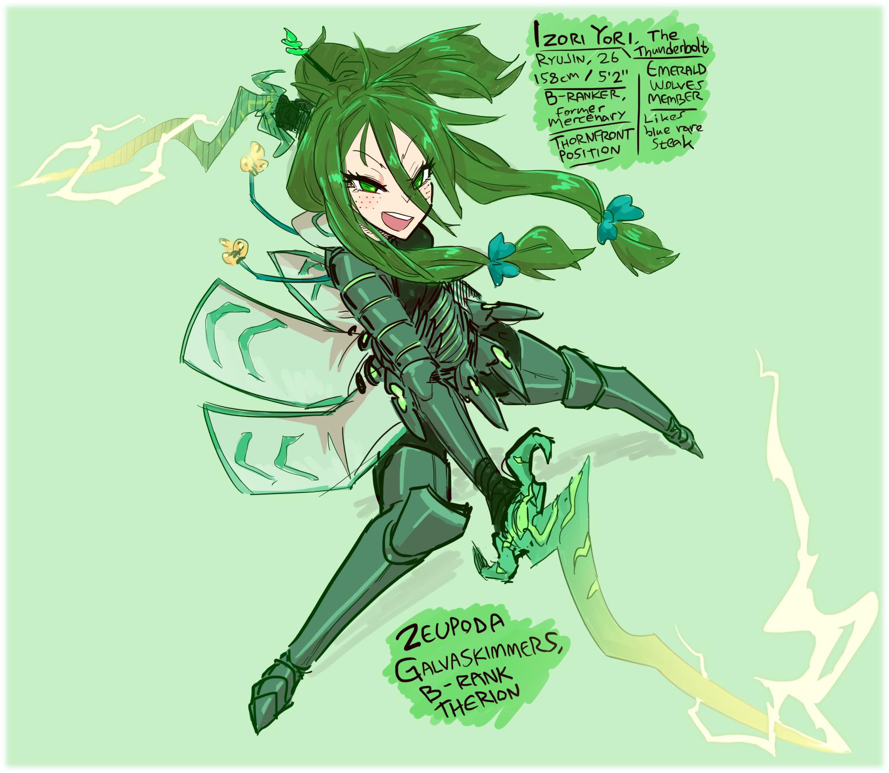 Izori the Thunderbolt