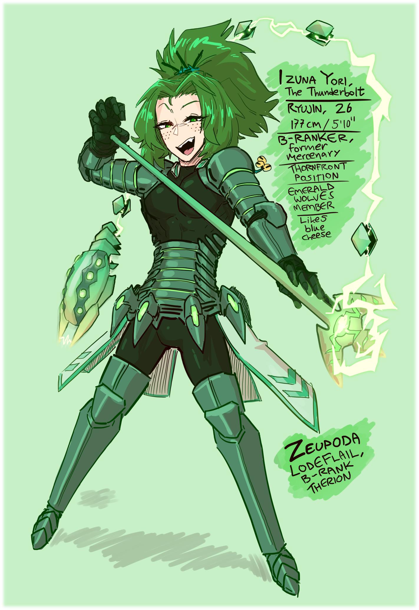 Izuna the Thunderbolt