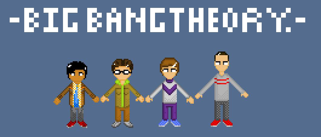 Big Bang Theory Line Up