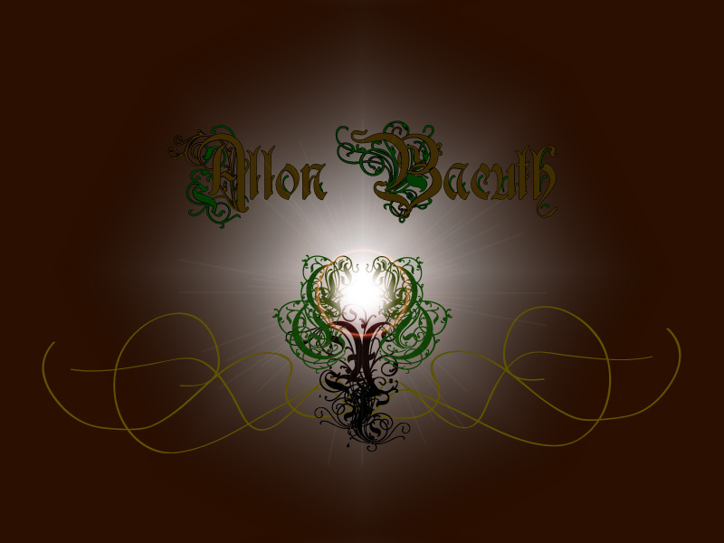 Allon Bacuth Band Logo