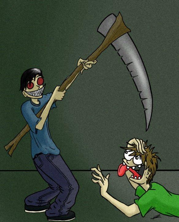 Murderboy and his Scythe