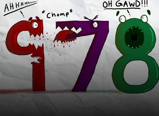 7 8 9