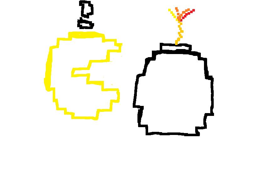 pacman bomb