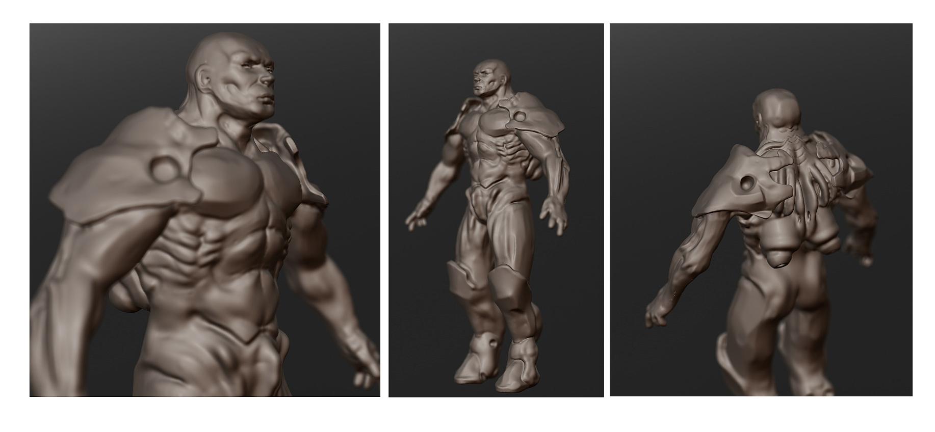 Sculptris figure WIP