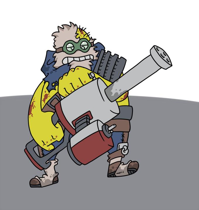 The littliest Super Mutant