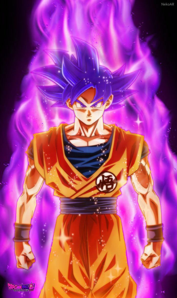 Super saiyan purple goku