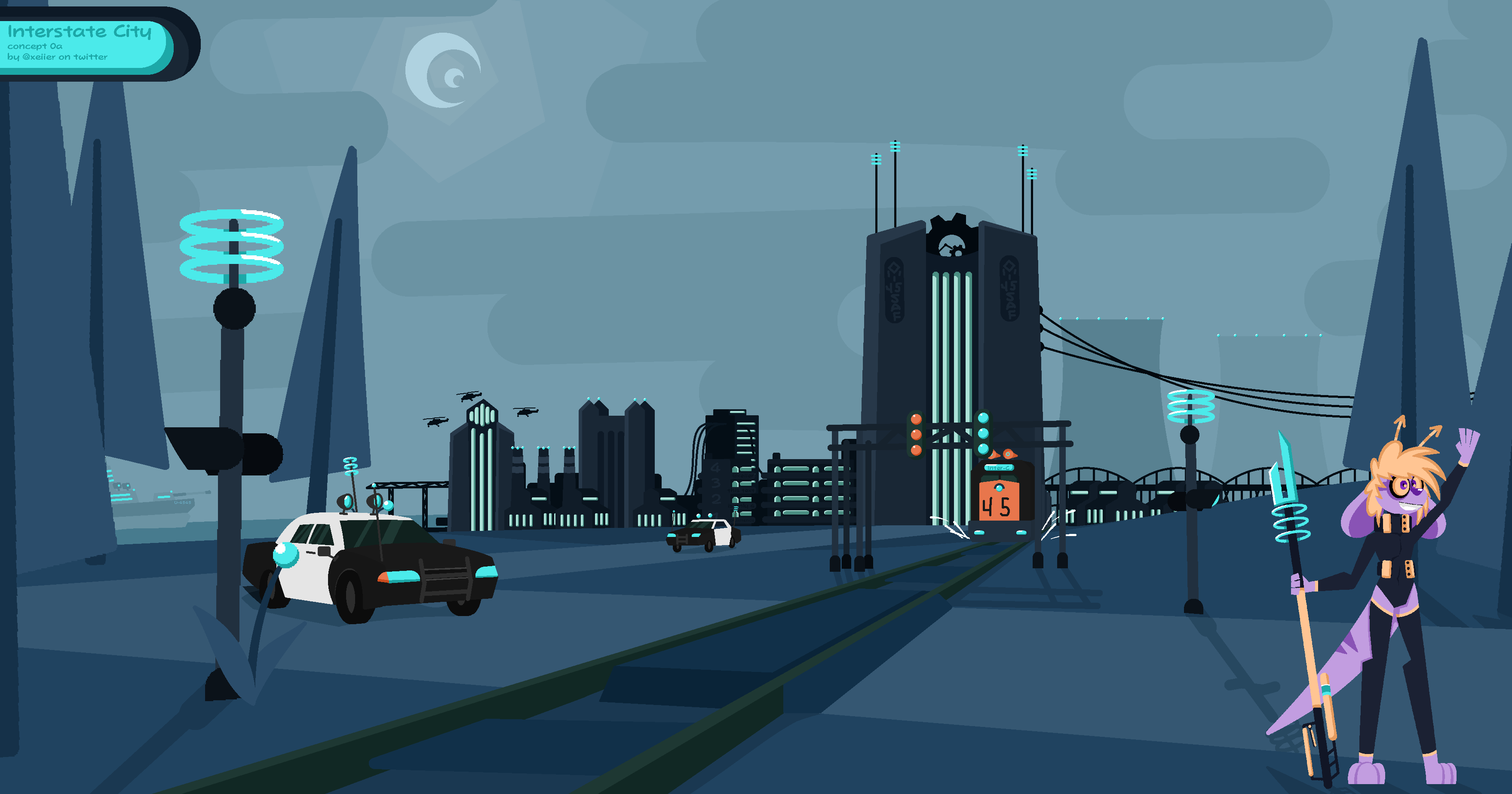 Interstate City - OTS Concept art