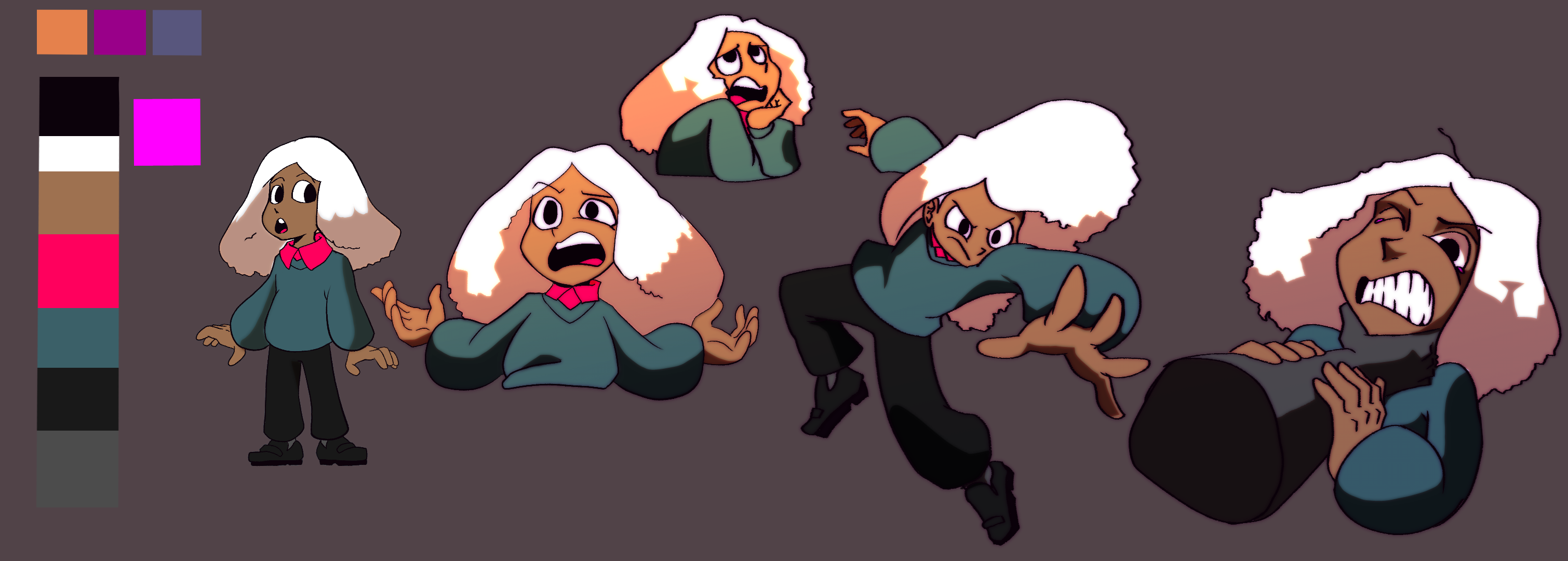 Maggy Expression Sheet