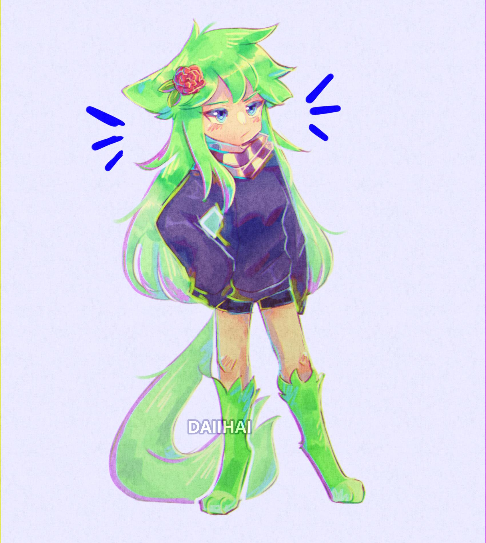 sassy green hoe