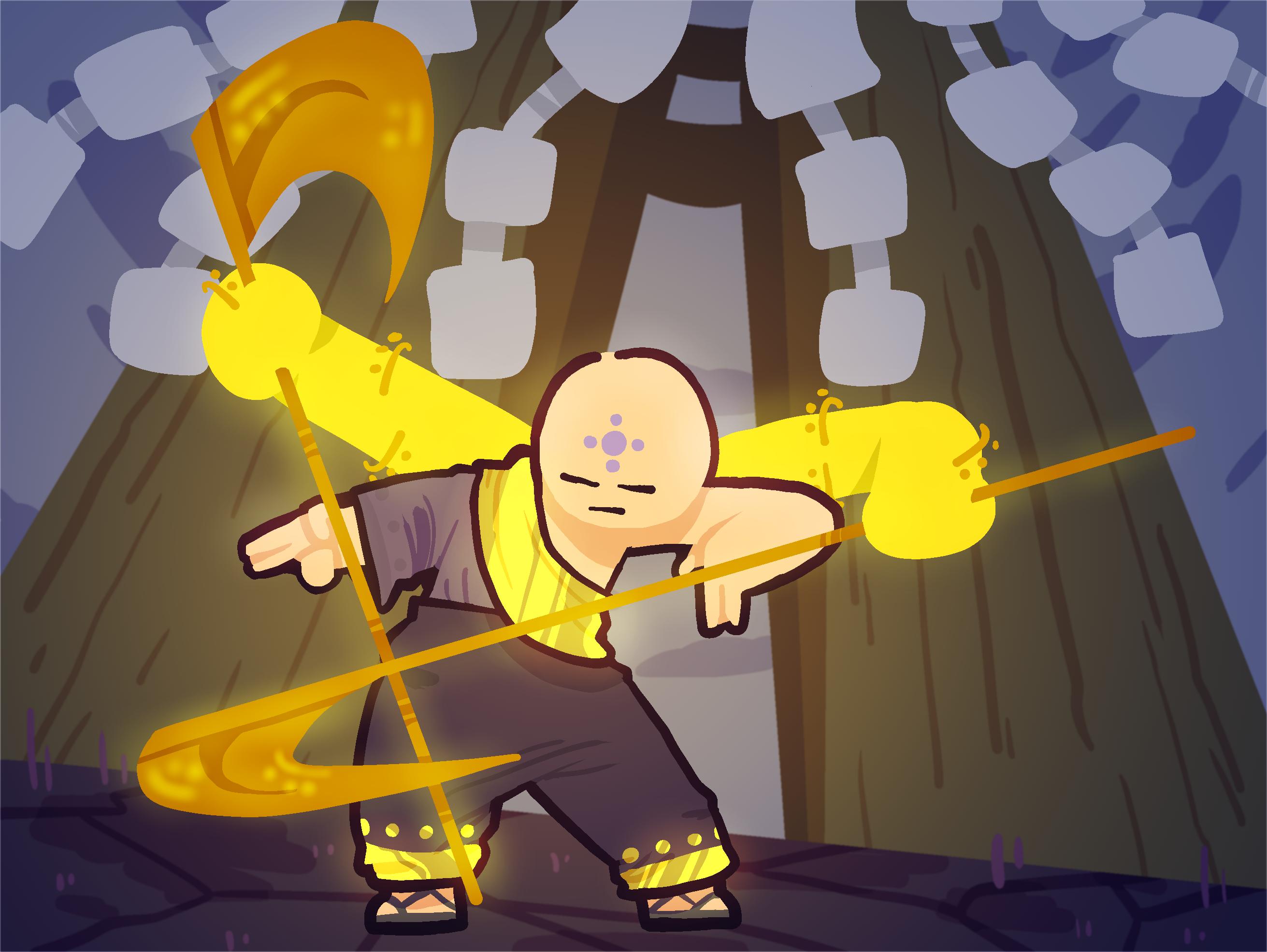Spirit Monk