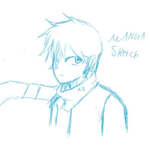 Manga sketch