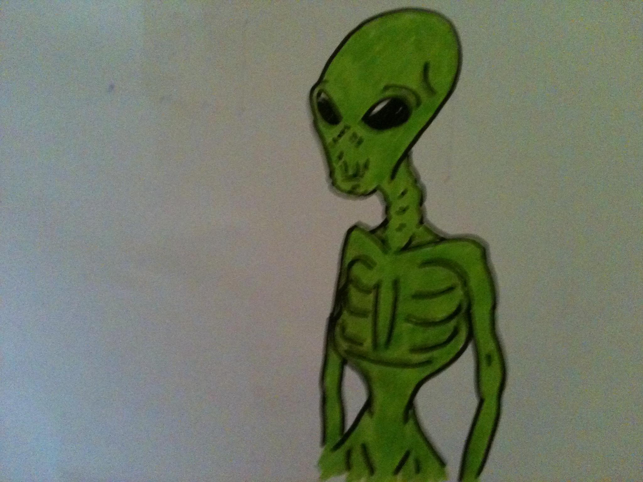 Skinny Alien