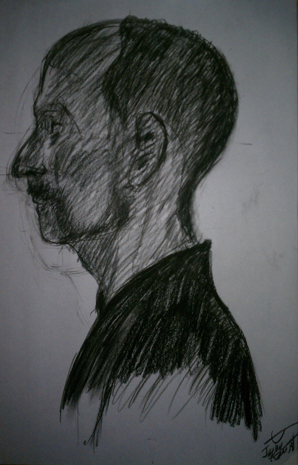 Profile of a Man's Head