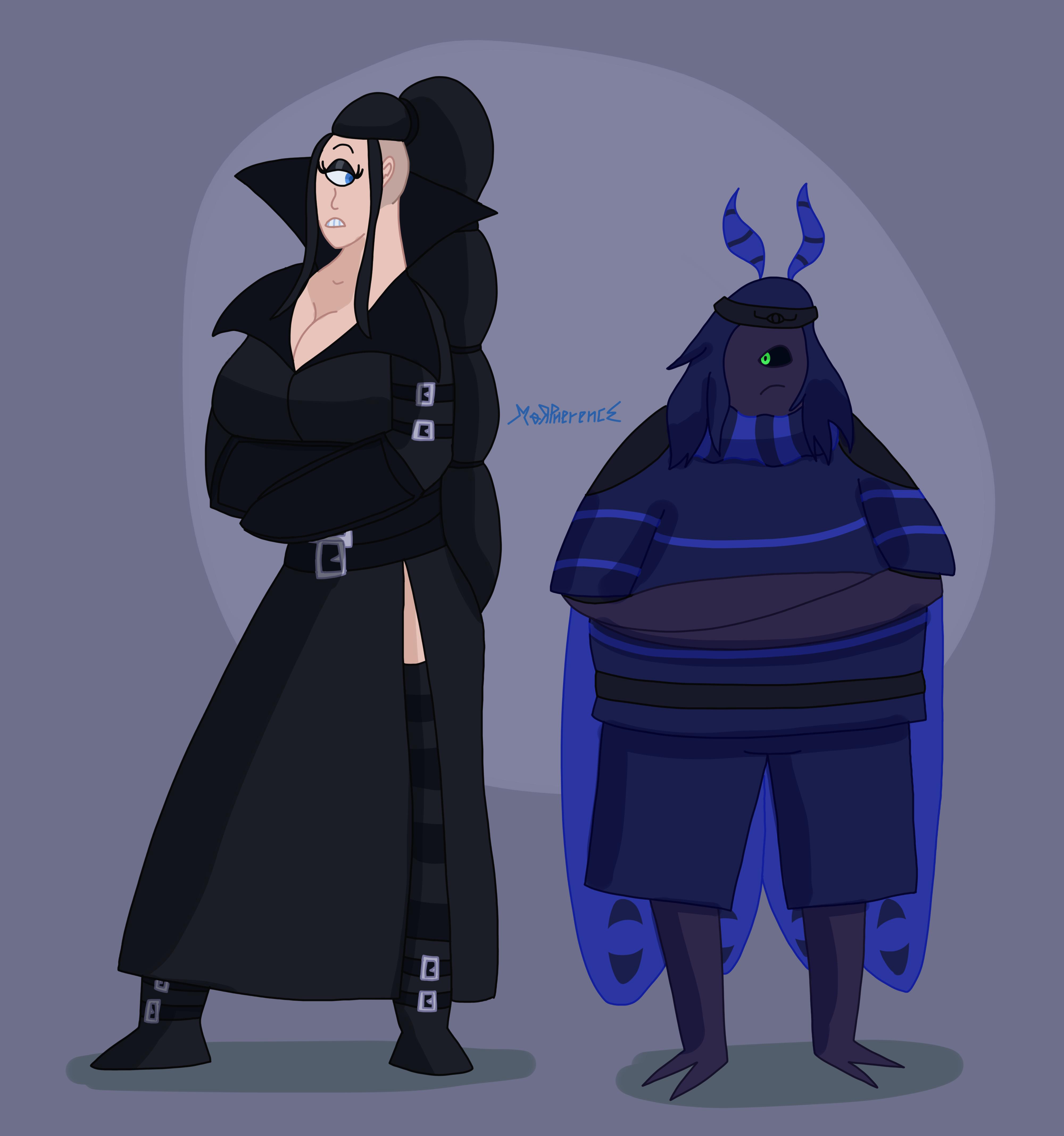 Nova Jorgana and Scaramorph