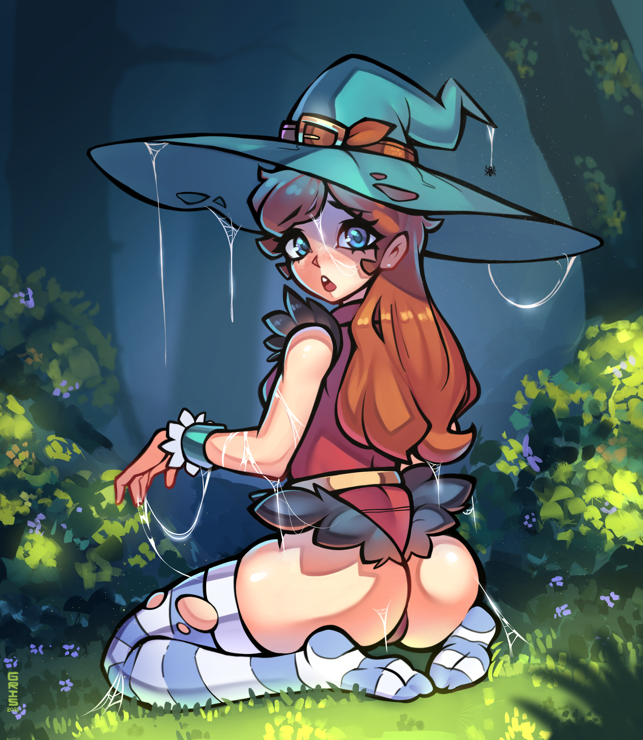 Emma the Witch (Commission)