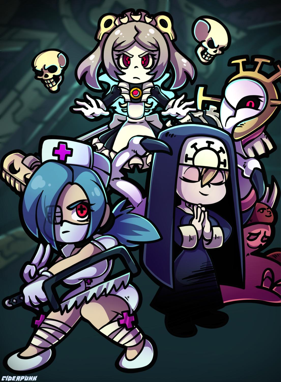 Skullgirls - Chibi