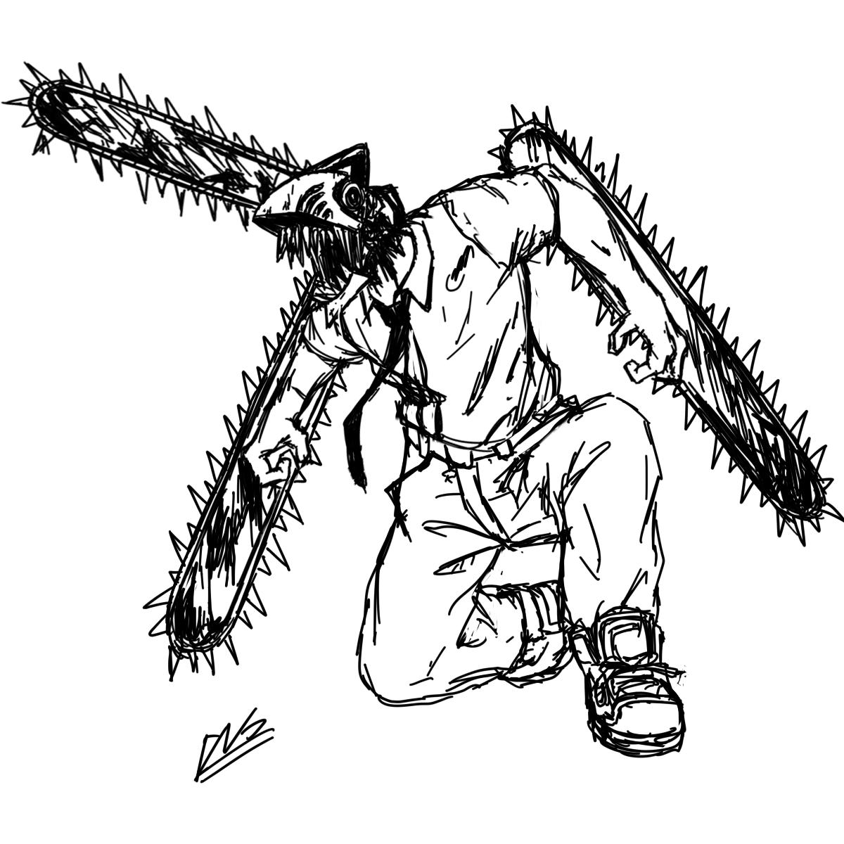 Drew chainsaw man