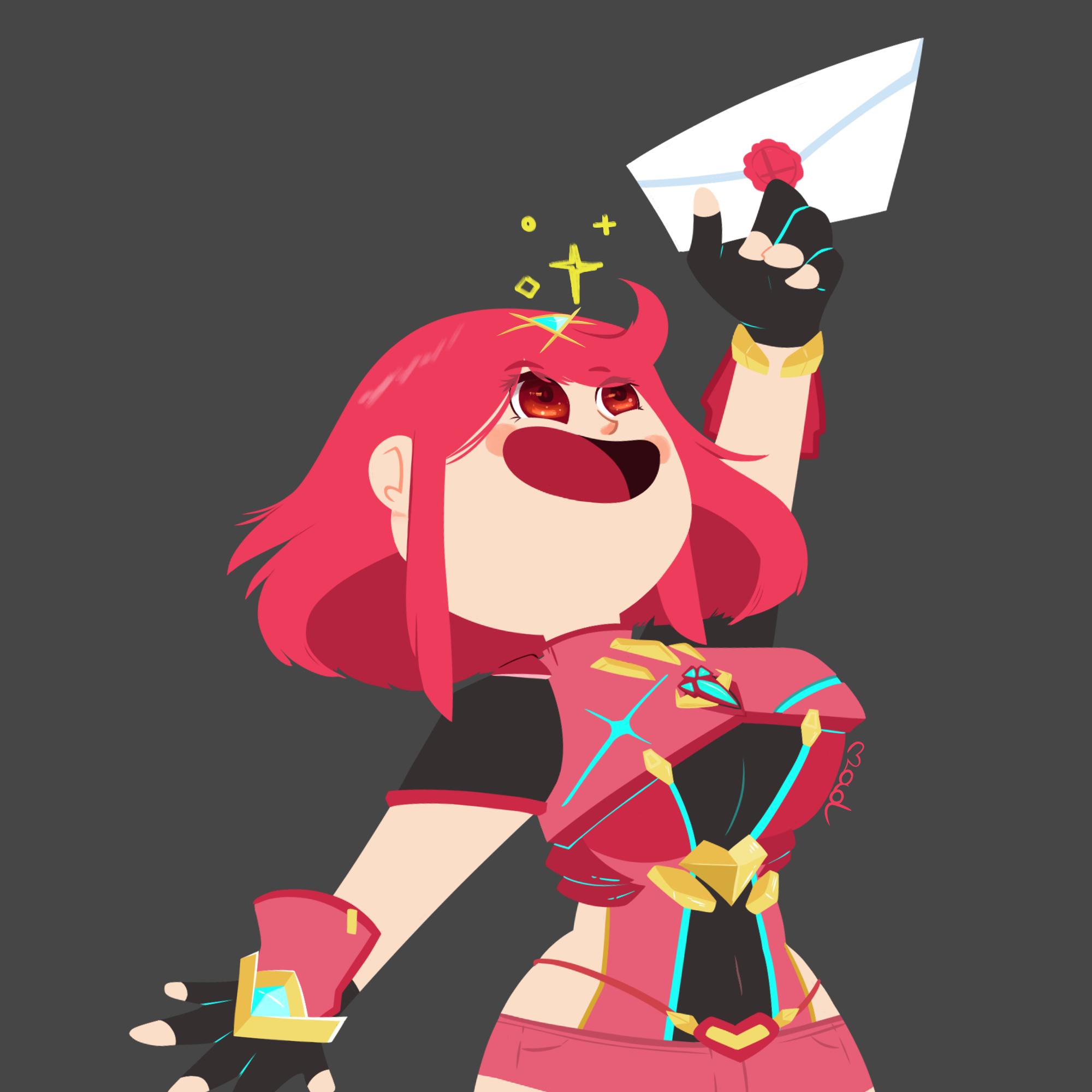 Pyra in Smash!