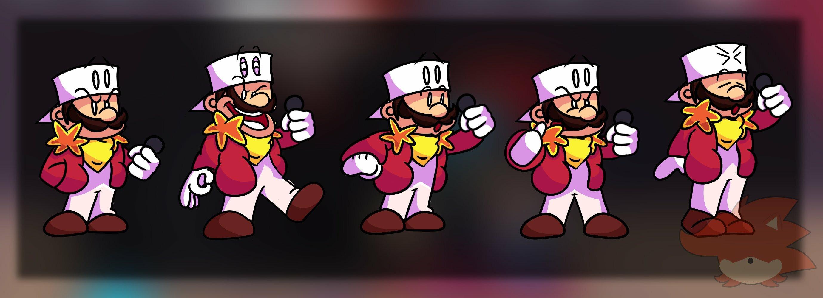 FNF: Fire Mario Fan