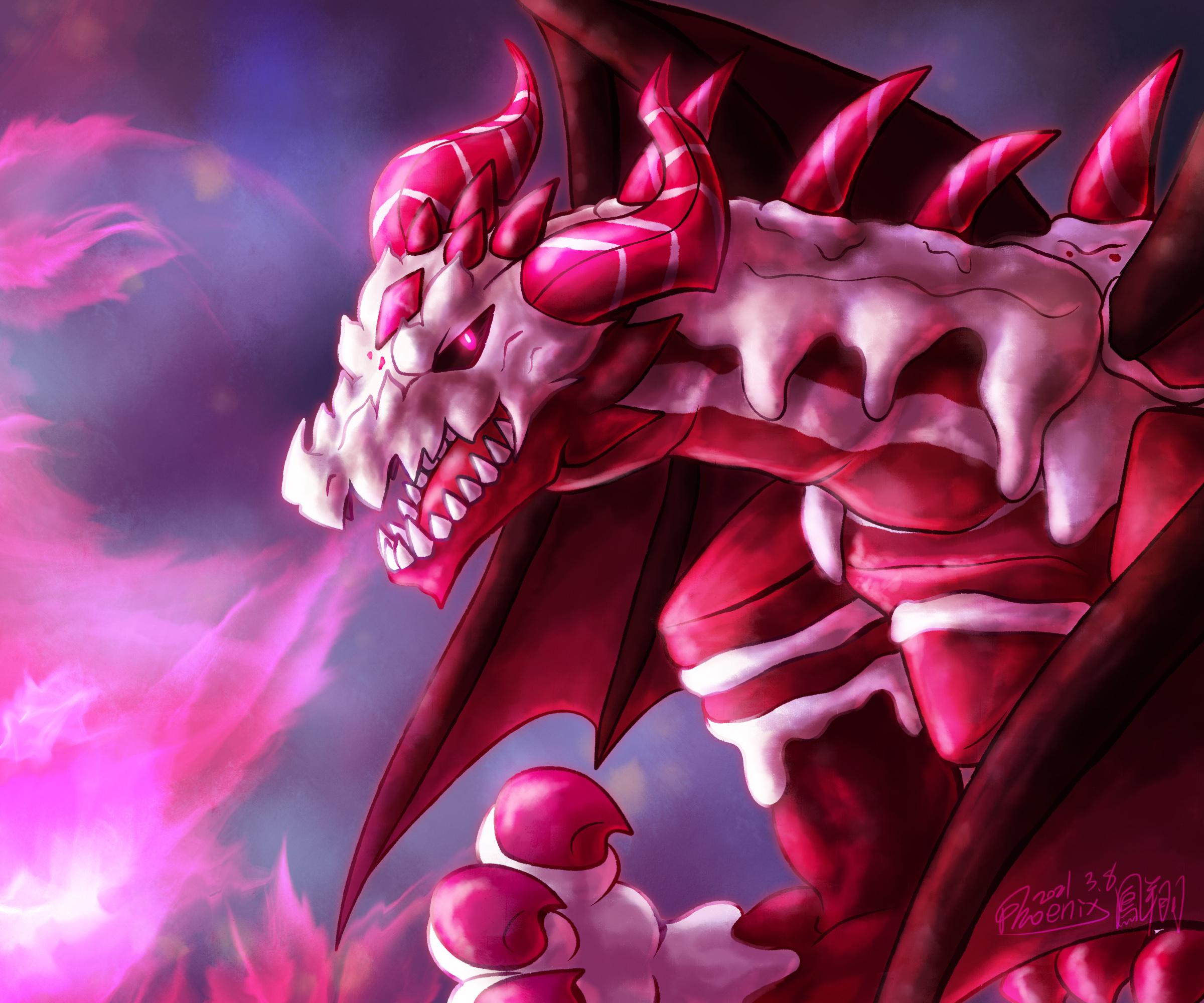 Red Velvet Dragon