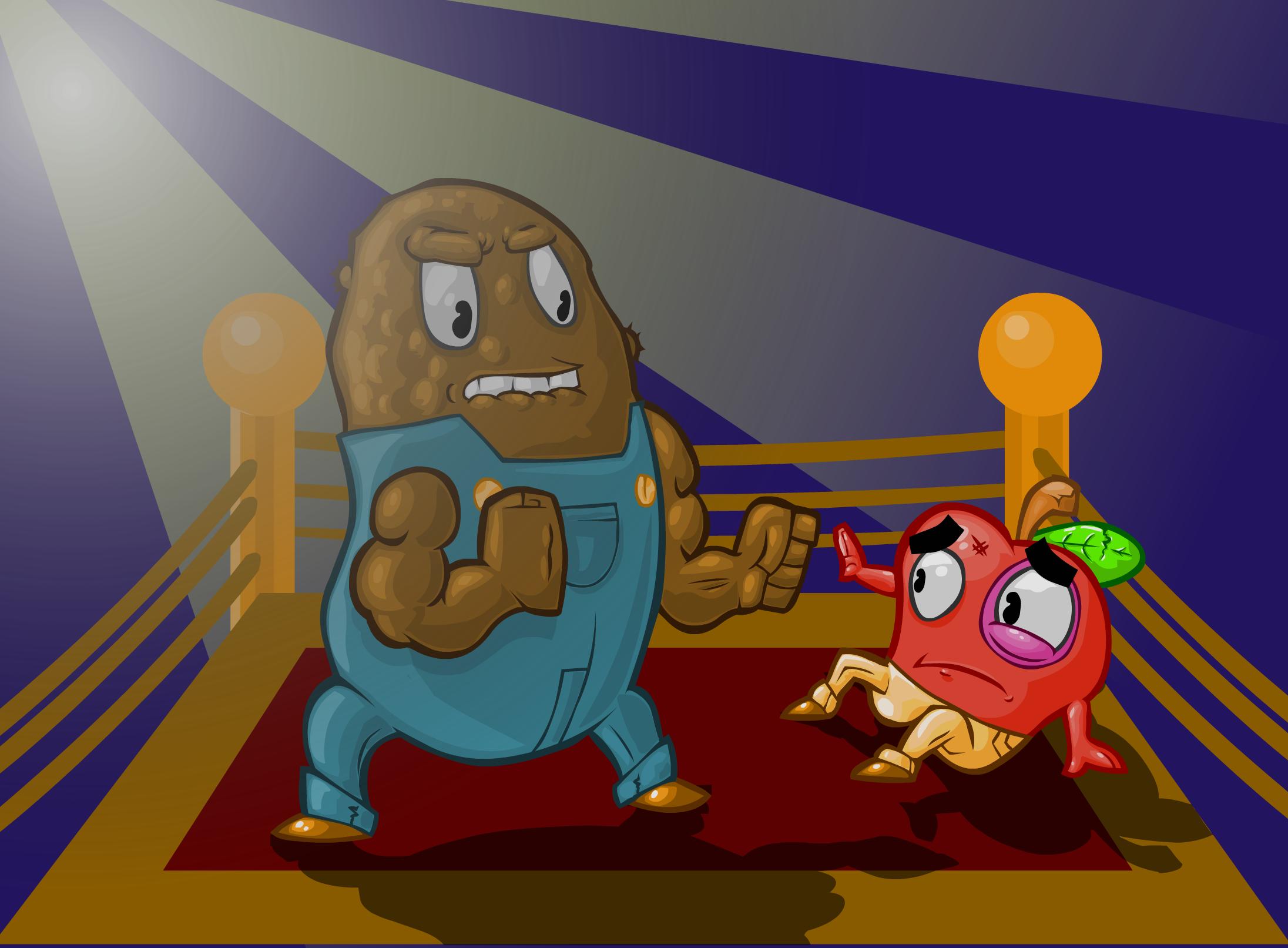 Potato vs. Apple