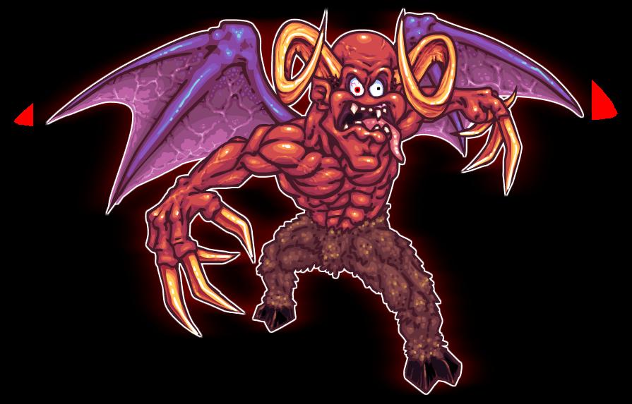 Leo & Satan art