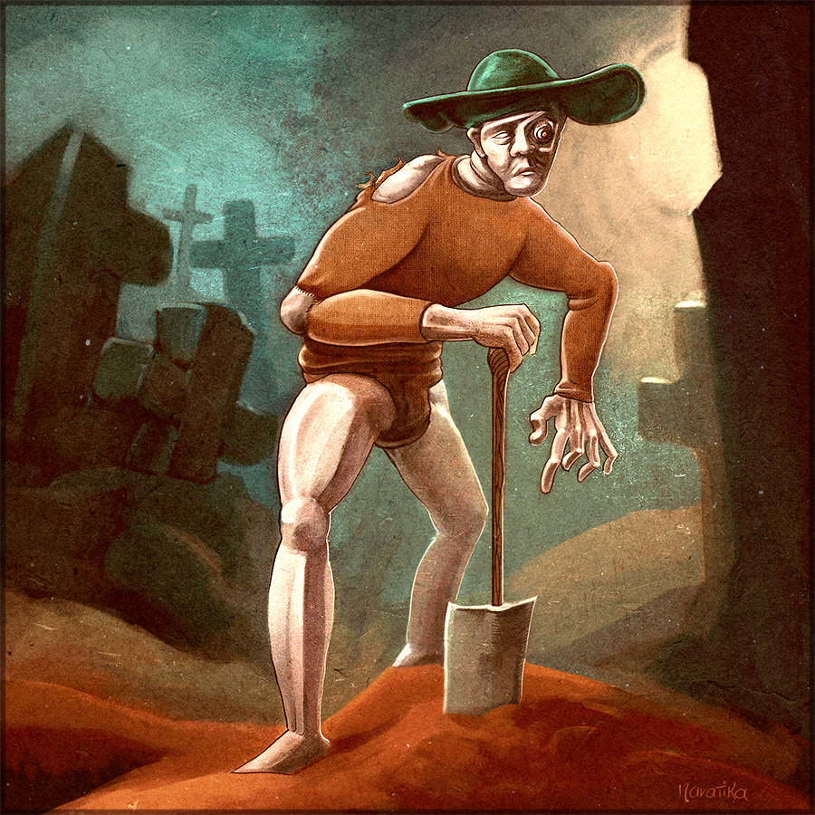 Abandoned Trades - Gravedigger