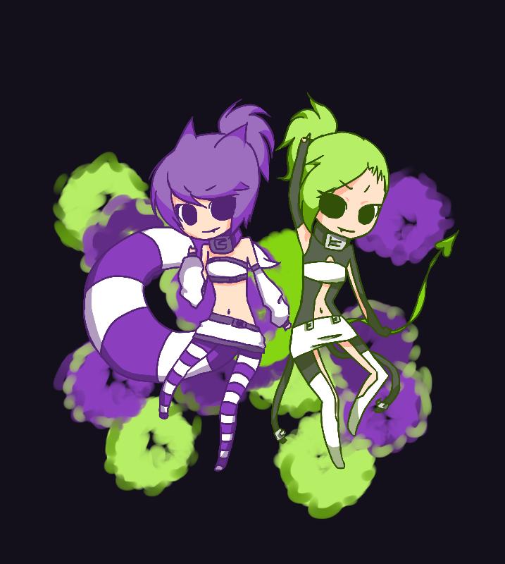 Chesia&Kazune.. GO!