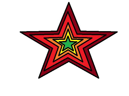 Collorful Star