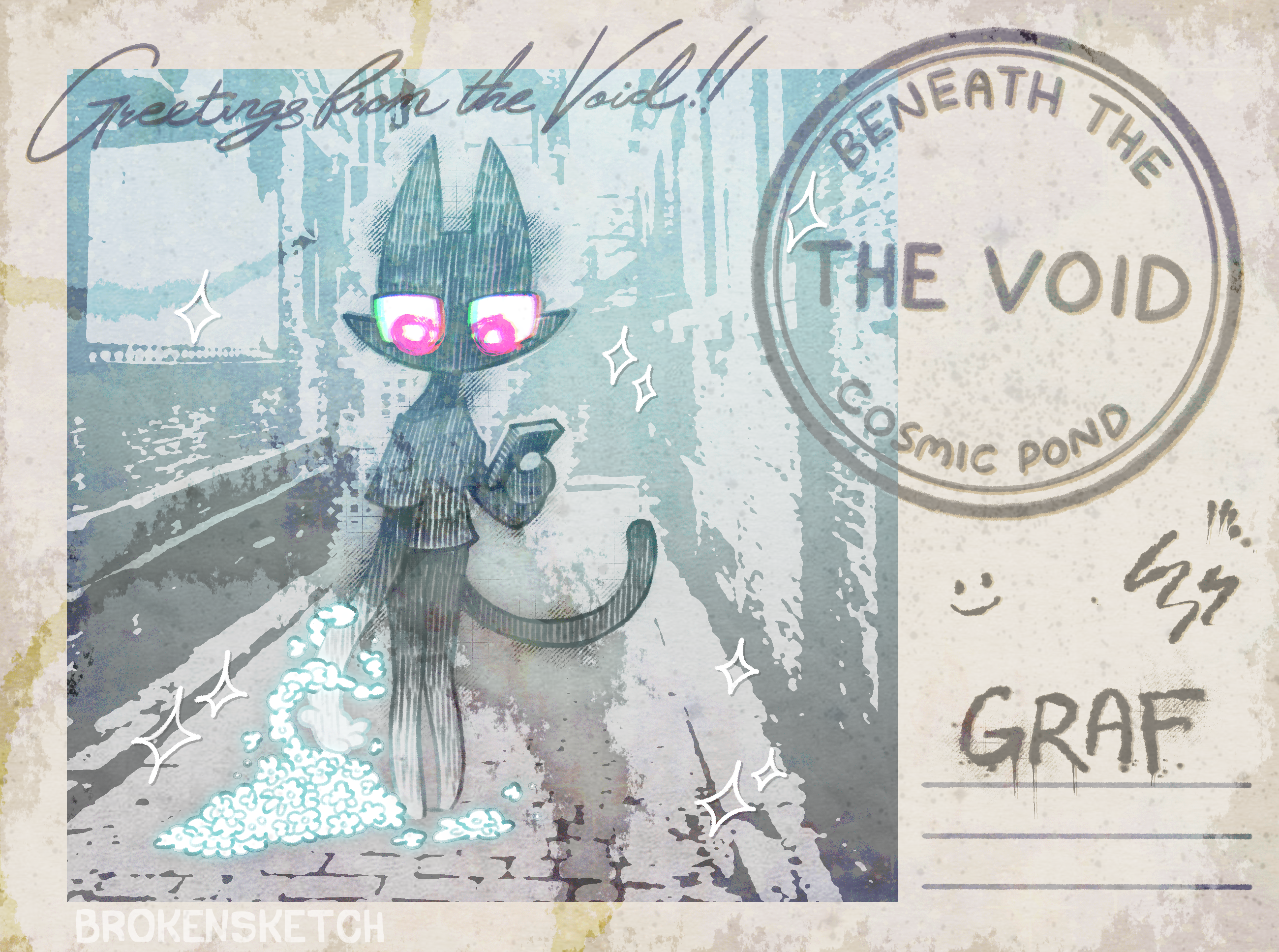 greetings from the void!!