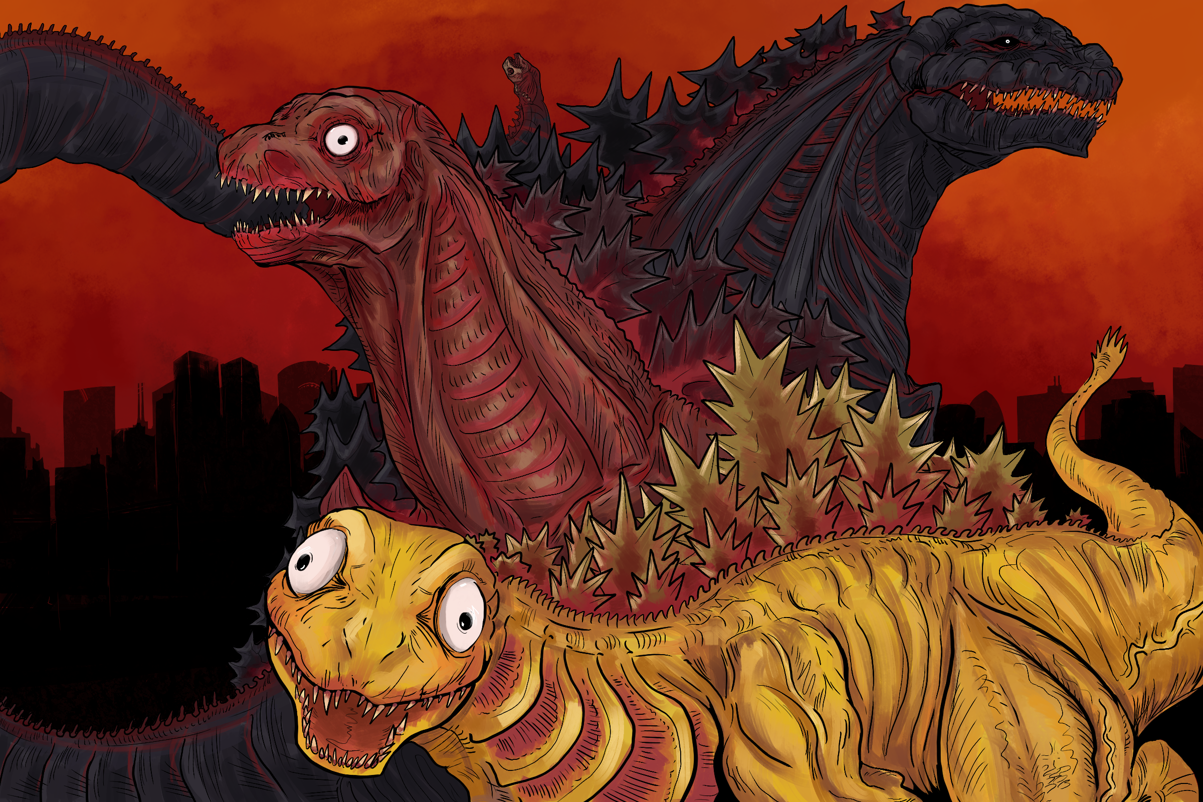 The many faces of Shin Goji
