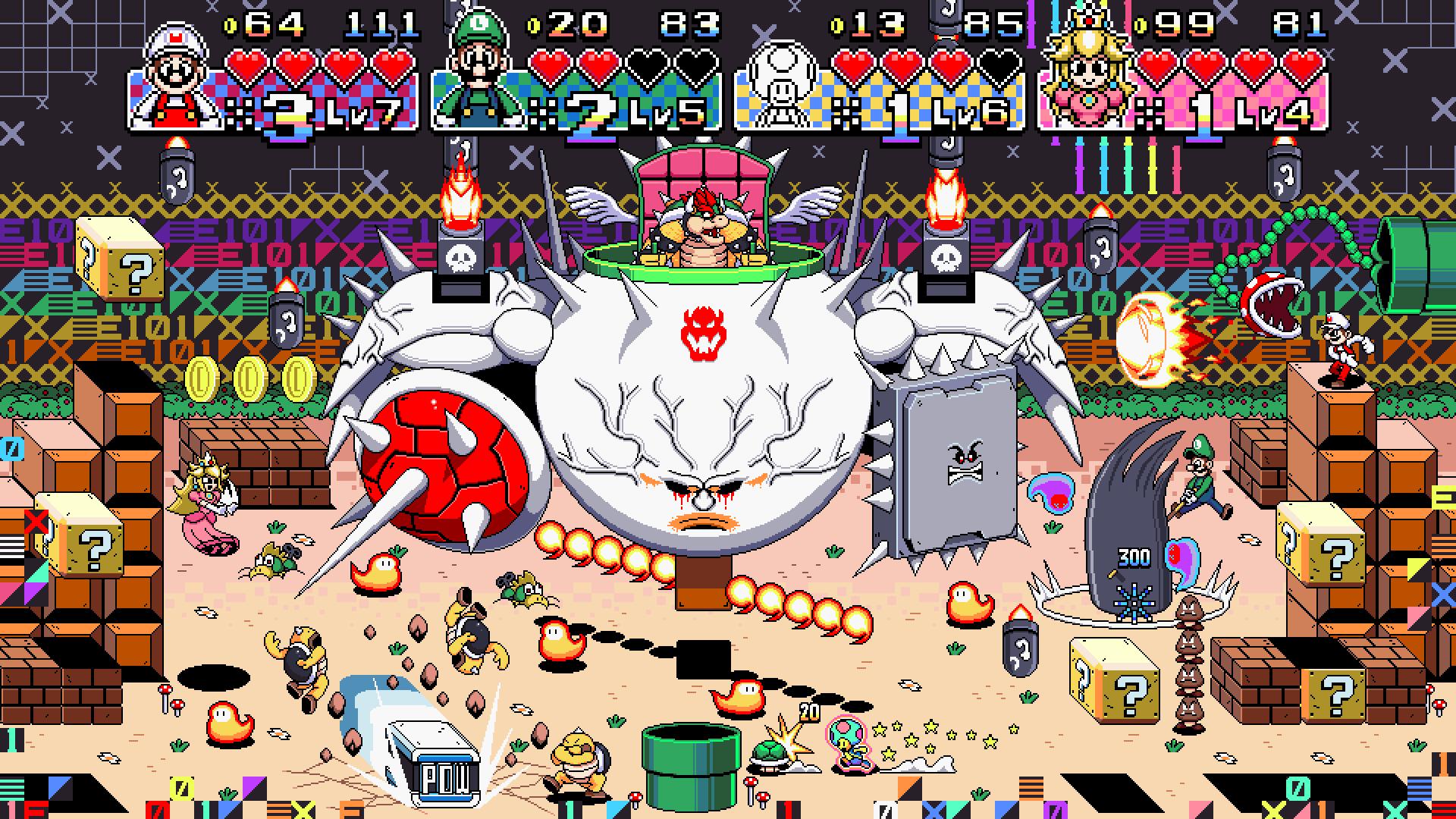 Super Mario vs. the World the Game