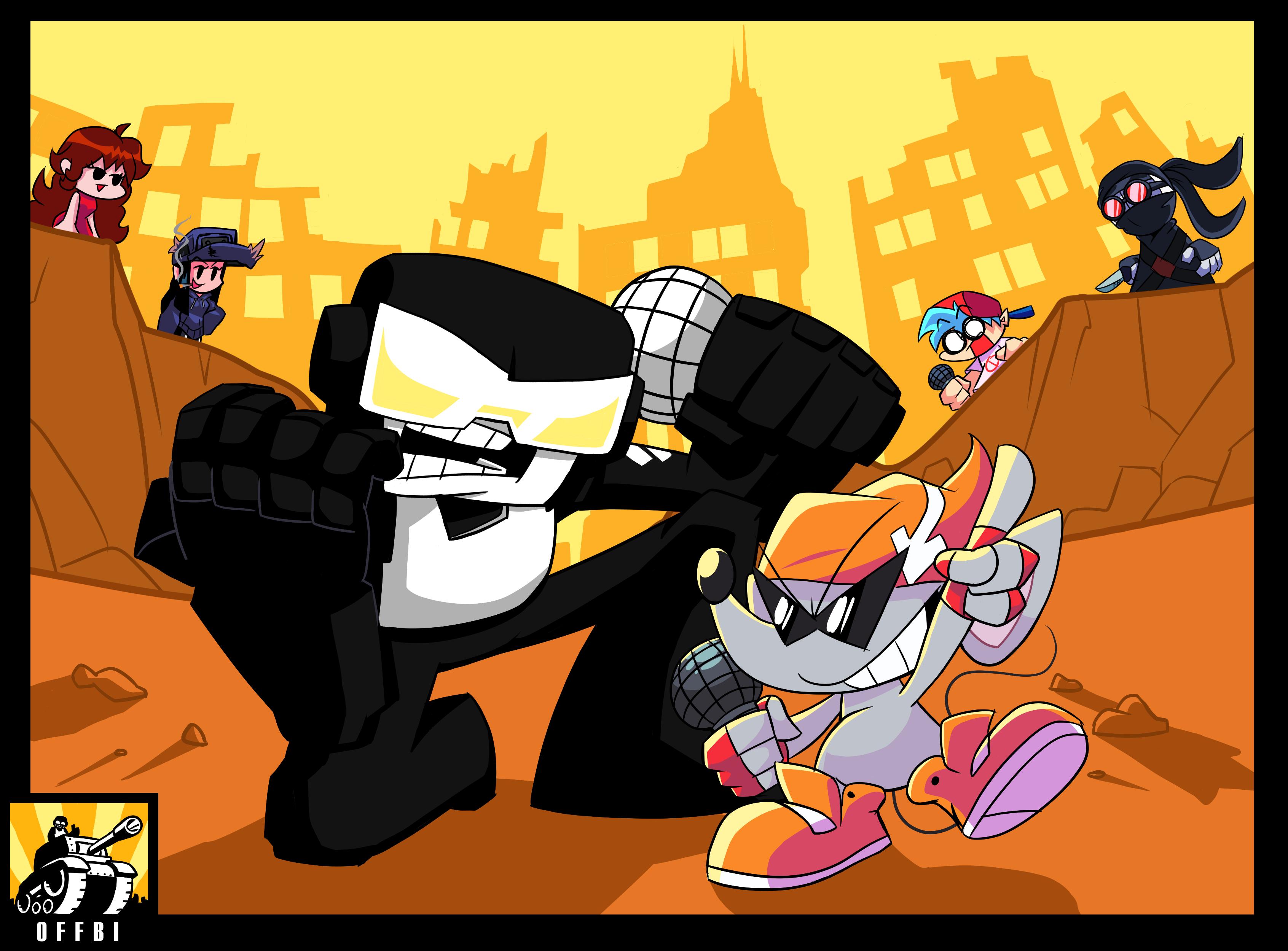 Tankman vs Ritz the Rat