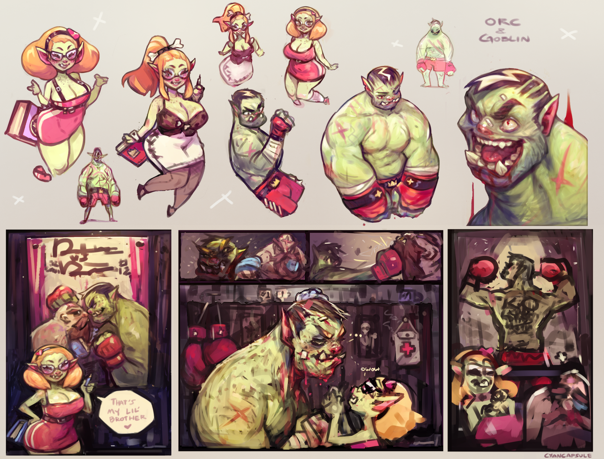 Orc Boxing